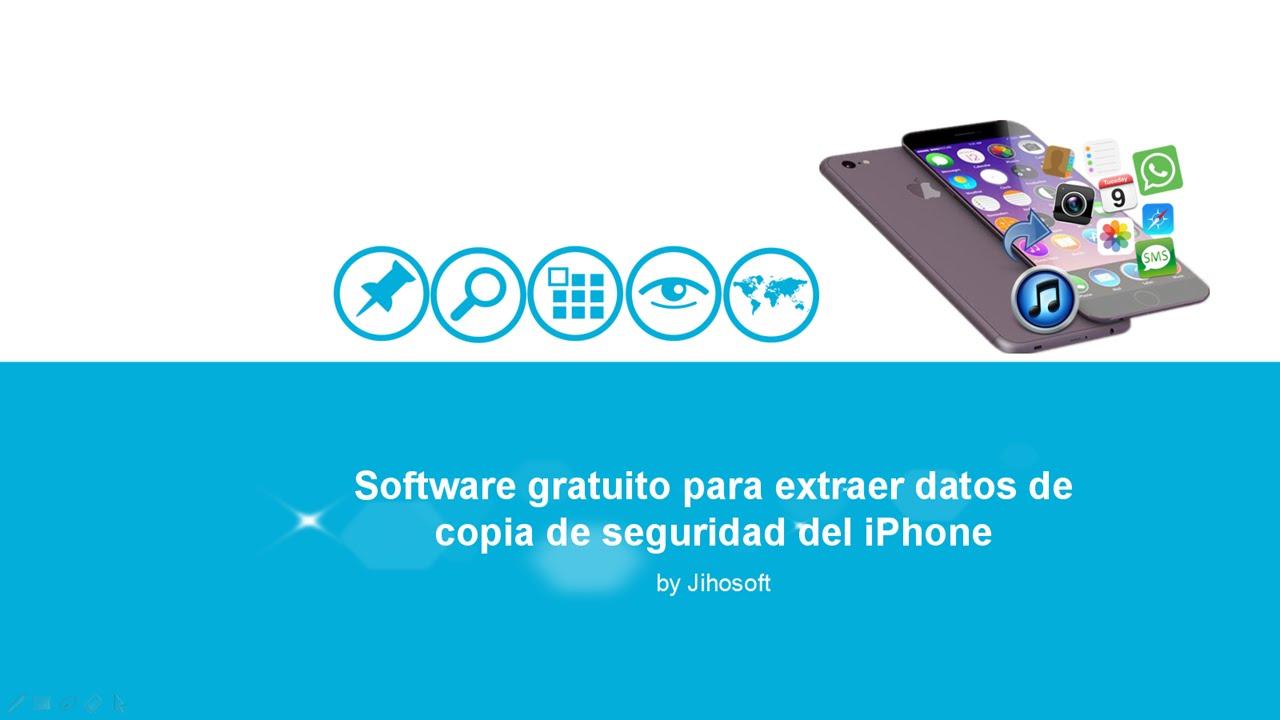 iPhone Backup Extractor para Windows y Mac