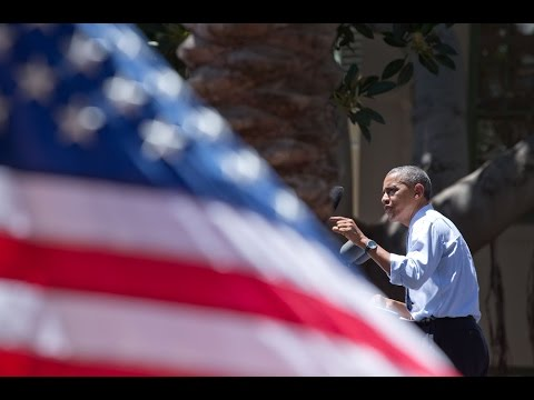 President Obama Delivers Remarks on the Economy in Los Angeles