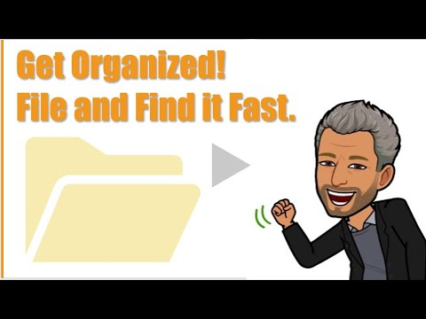 Organize Your Files, Folders, Email and Documents