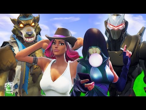 DIRE AND CALAMITY GO ON A DOUBLE DATE! - A Fortnite Short Film