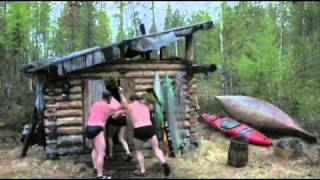 Banja die russische Sauna in der Taiga
