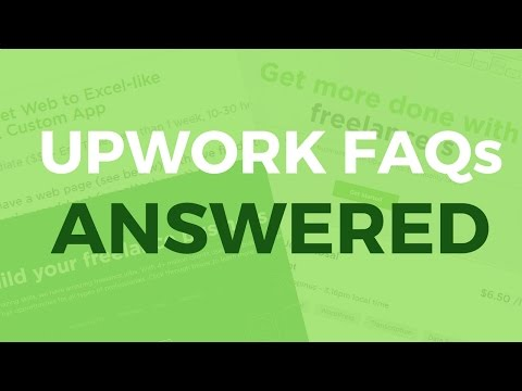 Upwork FAQs ANSWERED (Tagalog-English)