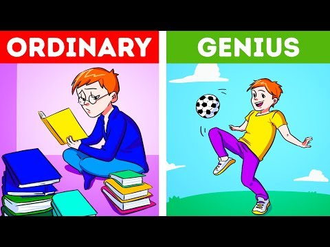 11 Signs You Were Brought Up As A Genius