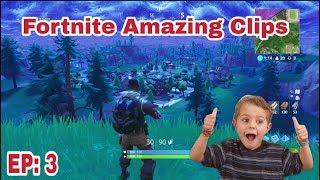 Fortnite Amazing clips/ Battle Royale EP: 3