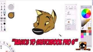 Basics to Sketchbook Pro 6 for Beginners Tutorial