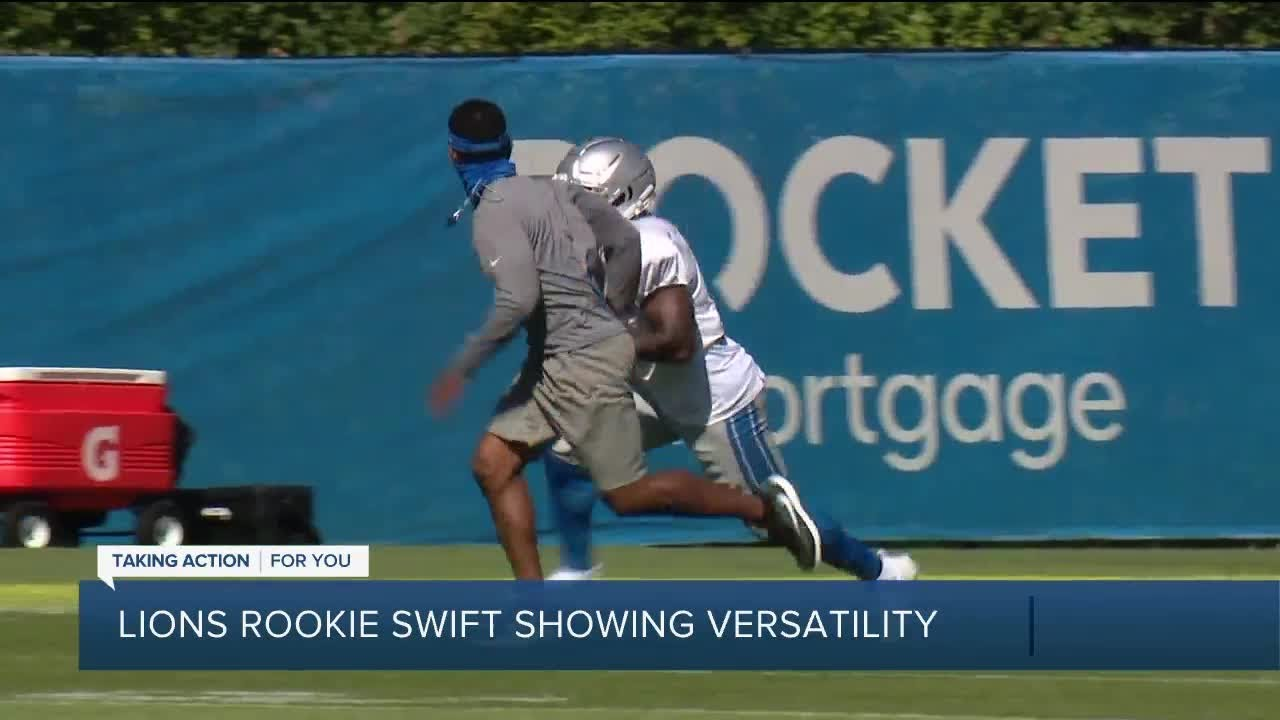 D'Andre Swift injury update: How to handle the Lions RB vs. Texans ...