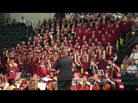 2017 Maple Mountain High School Graduation Orchestra & Choir Musical Numbers