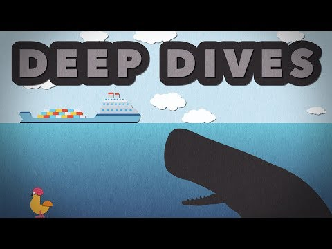 The Deepest Diving Animals - Size Comparison