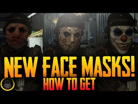 NEW FACE MASKS! How to get them! Global Event 2 (The Division 1.7)