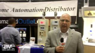 CEDIA 2015: Automated Outlet Offers Home Automation Solutions Including Security, Lighting, Audio