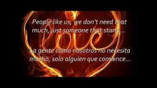 James Blunt - Bonfire Heart (Letra en inglés y traducida al español)