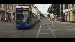 LVB Straßenbahn Leipzig Linie 4 nach Stötteritz