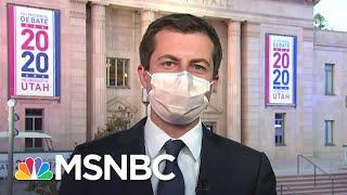 Pete Buttigieg On Helping Kamala Harris Prepare For The VP Debate | MSNBC