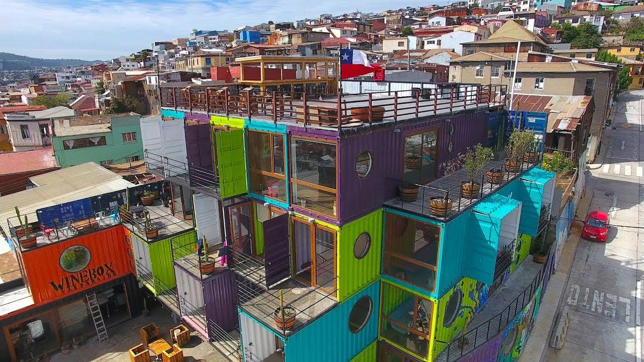 Winebox Valparaiso Apart Hotel Wine Bar