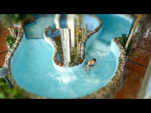 Aqua Nova Borlänge - Wild River Slide | Vildforsen Onride POV