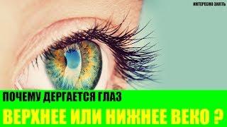 Почему дергается глаз - верхнее или нижнее веко?
