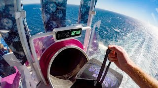 The Ultimate Abyss onboard Symphony of the Seas - The Tallest Slide at Sea