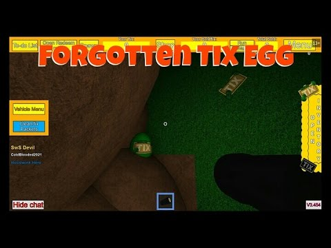 Tix Factory Tycoon How To Get Forgotten Tix Egg Coldblooded2021