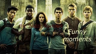 The maze runner funny moments