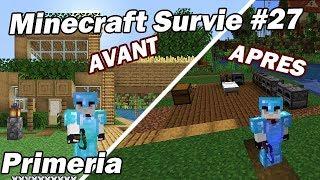 Je détruis ma maison sur Minecraft  !  Minecraft Survie Primeria #27