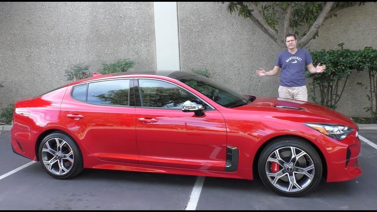 Here S Why The 2018 Kia Stinger Gt Is Worth 50 000