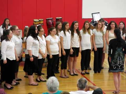 Laconia Middle School Women's Choir - Happy (2014)