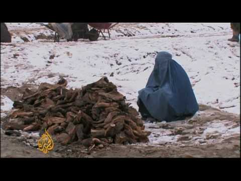 Afghan displaced face harsh winter