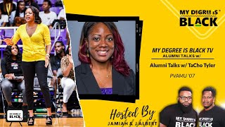MDIB TV Alumni Talks w/  Coach Tacho Tyler (PVAMU)
