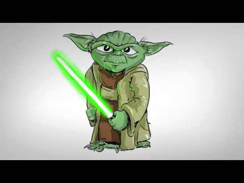 how to draw yoda chibi