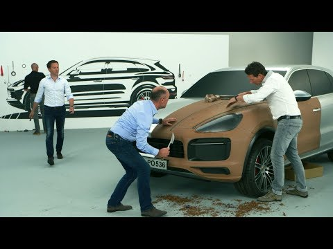 Designing the new Porsche Cayenne.
