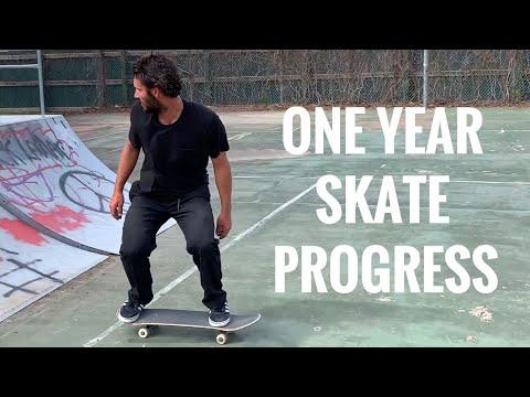 One Year Skate Progression | Chad Caruso