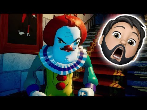 THE NEIGHBOR IS A HORRIFYING CLOWN!! | Secret Neighbor W/ DanTDM, ThnxCya [Hello Neighbor]