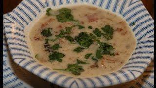 Юлия Высоцкая — Суп из белой фасоли со сморчками