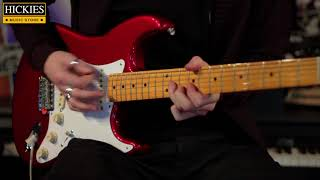 Fender Classic Series 50's Stratocaster In Candy Apple Red - Hickies Sound Bites