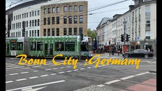 Bonn City Germany : Walking in Bonn