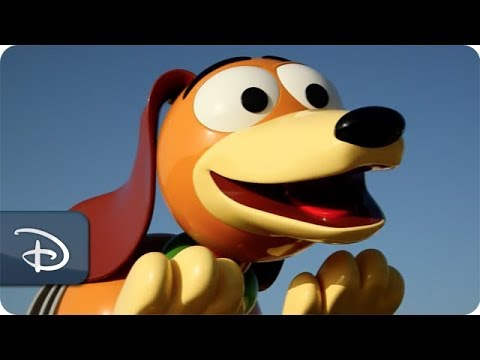 Imagineers Ready Slinky Dog Dash Ride Vehicle | Disney's Hollywood Studios