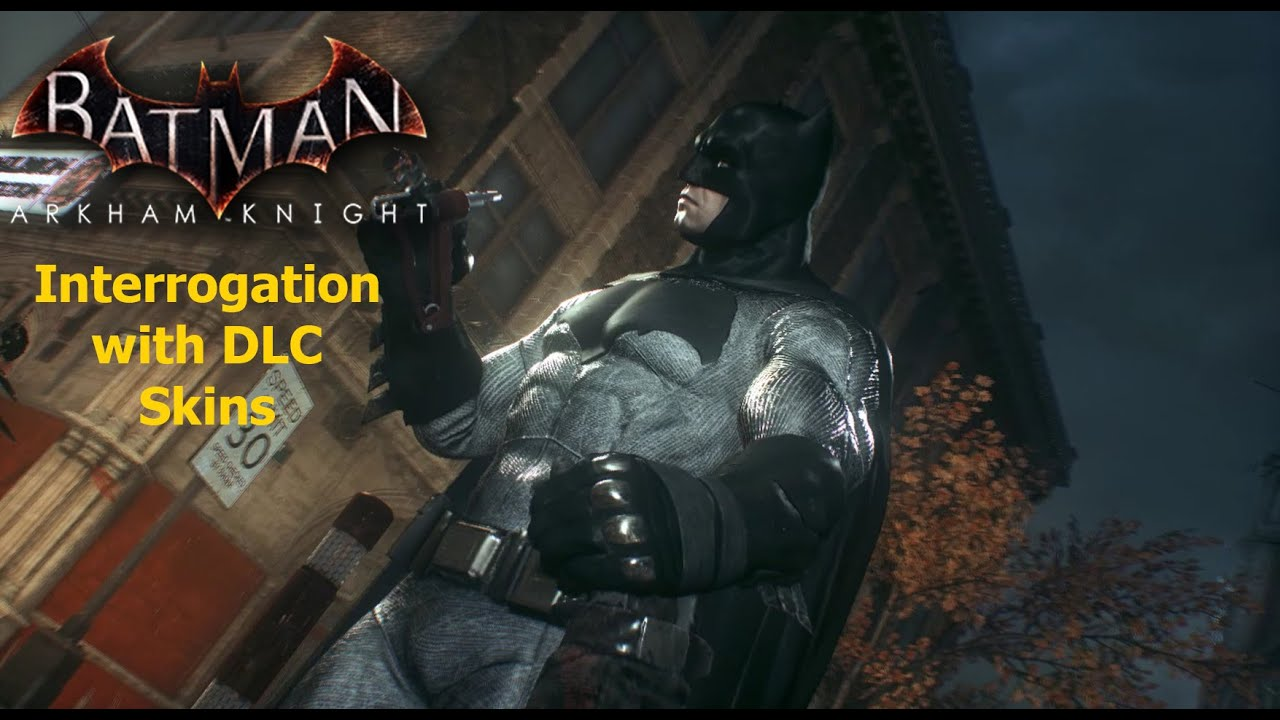 how to change skins in batman arkham knight