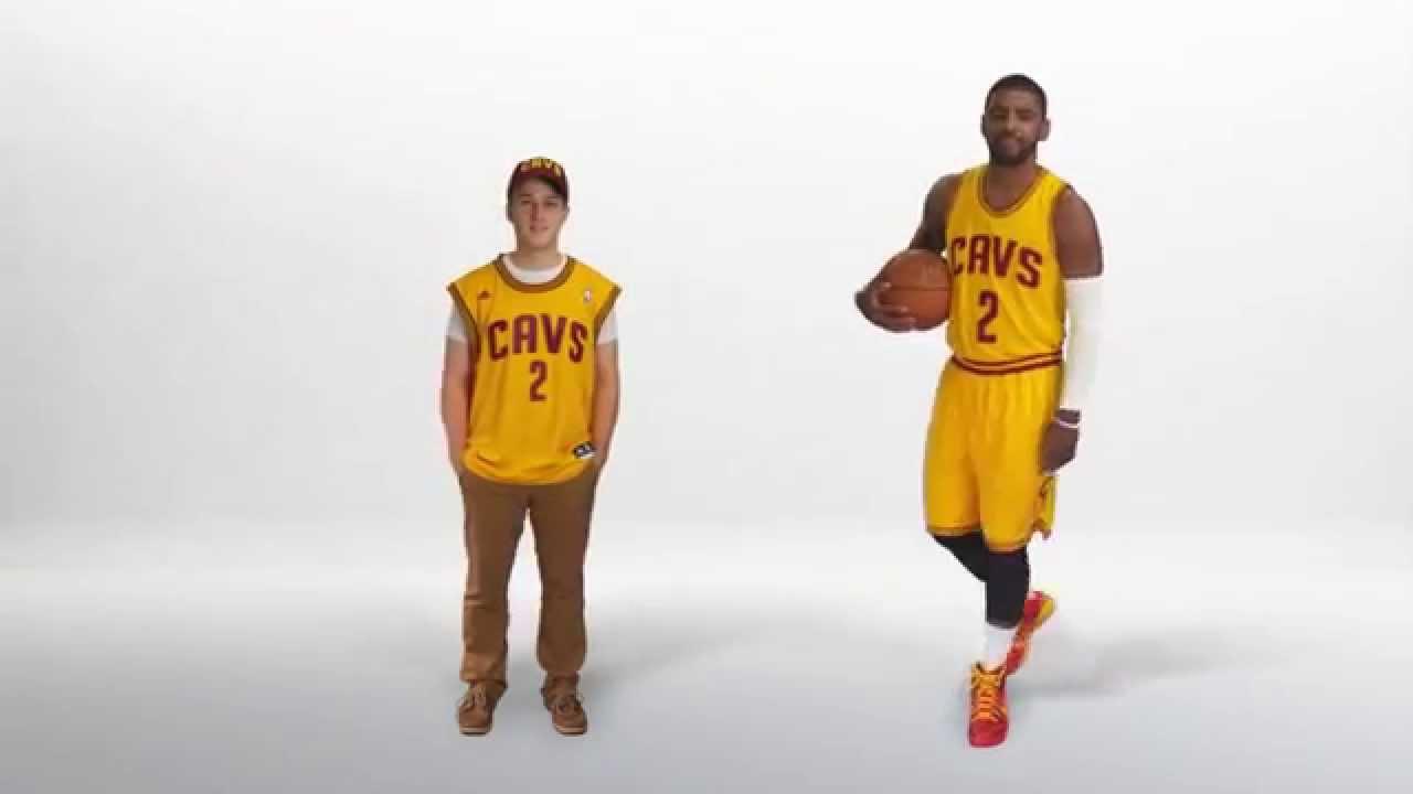 huge discount 229e5 8158a Cleveland Cavaliers TV Team Shop Commercial 2014