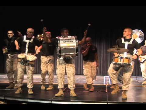 Marine Corps Band Visits Amity High School 20101008