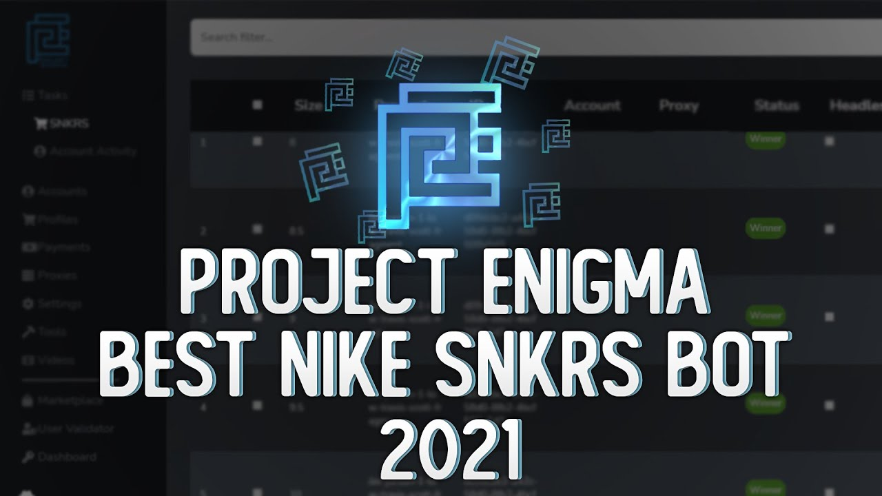 BEST Nike SNKRS Bot Of 20   Project Enigma Overview   Top Tier Sneaker  Bot