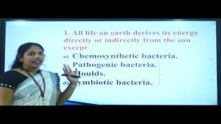 I PUC   CET/NEET   BIOLOGY   Photosynthesis in higher plants