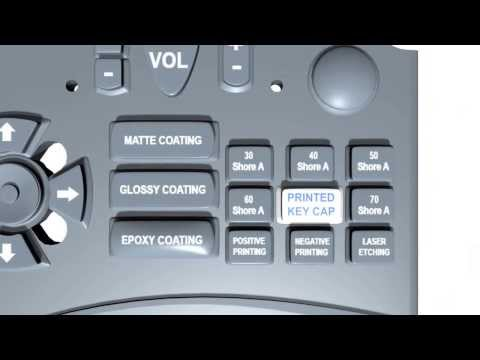 Custom Silicone Rubber Keypad Engineering Sample