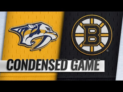 12/22/18 Condensed Game: Predators @ Bruins