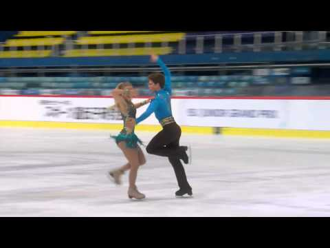 ISU 2014 Jr Grand Prix Zagreb Short Dance Rachel PARSONS / Michael PARSONS USA