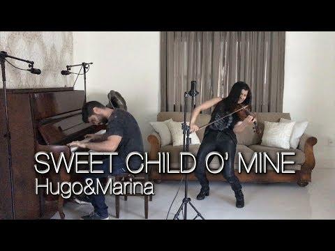 Guns n' Roses – Sweet Child O' Mine (Hugo&Marina Piano and Violin Cover)