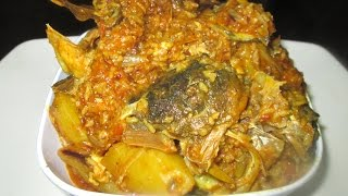 Bengali Muri Ghonto Recipe(Bengali Fish Head Curry Recipe)