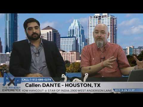 Eliminating Religion Solve World's Problems? | Dante - Houston, TX | Atheist Experience 21.37