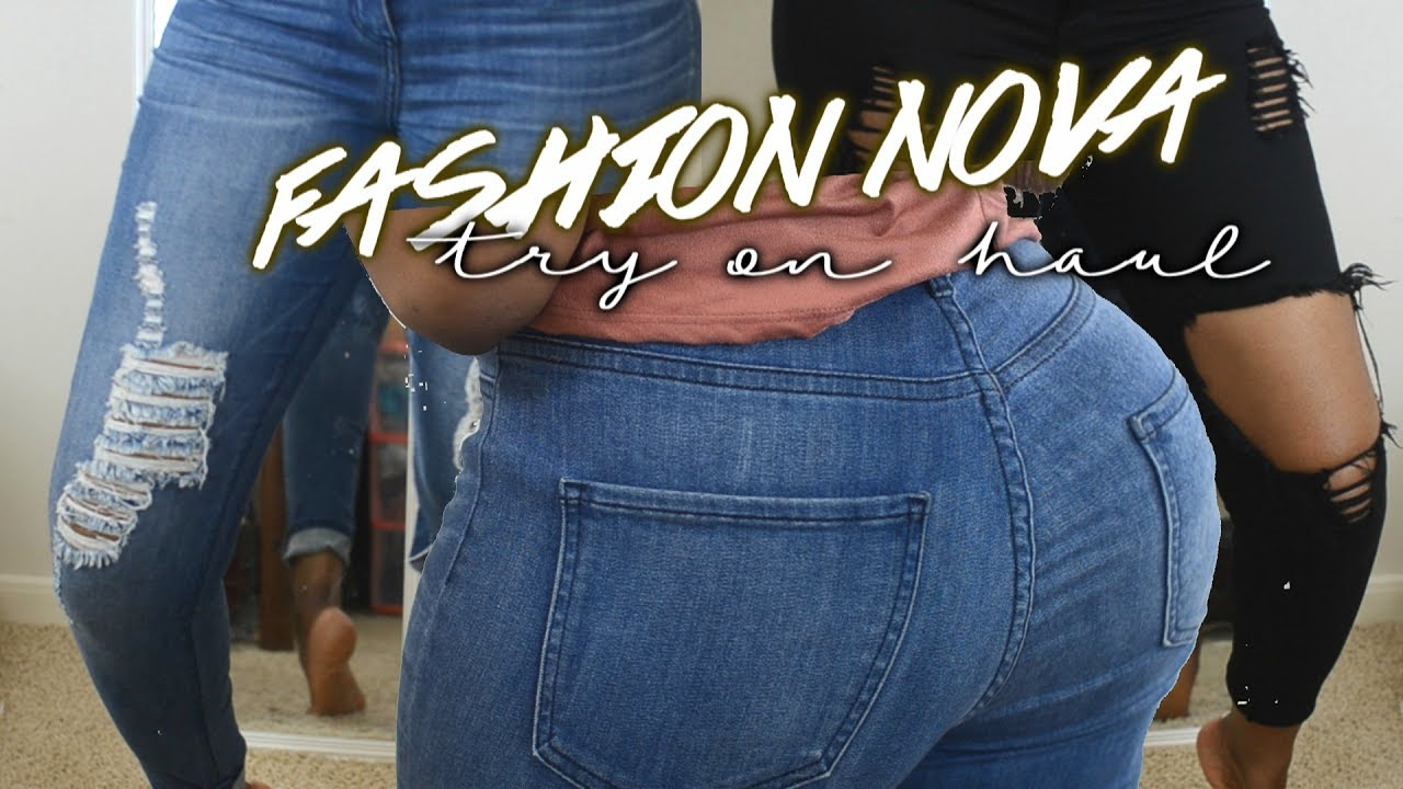 Fashion Nova Big Booty Try On Haul Review First Time Buyer
