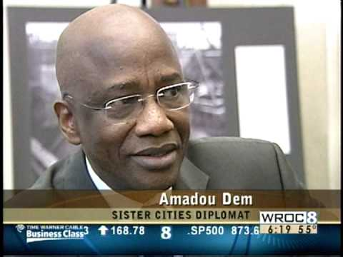 RIT on TV News: Amadou Dem