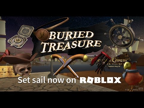 Roblox Buried Treasure Event [All Prizes] (Ended)